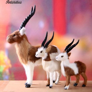 COD✅Antarctical Genuine Fur Antelope Ornament Home Photo Tool