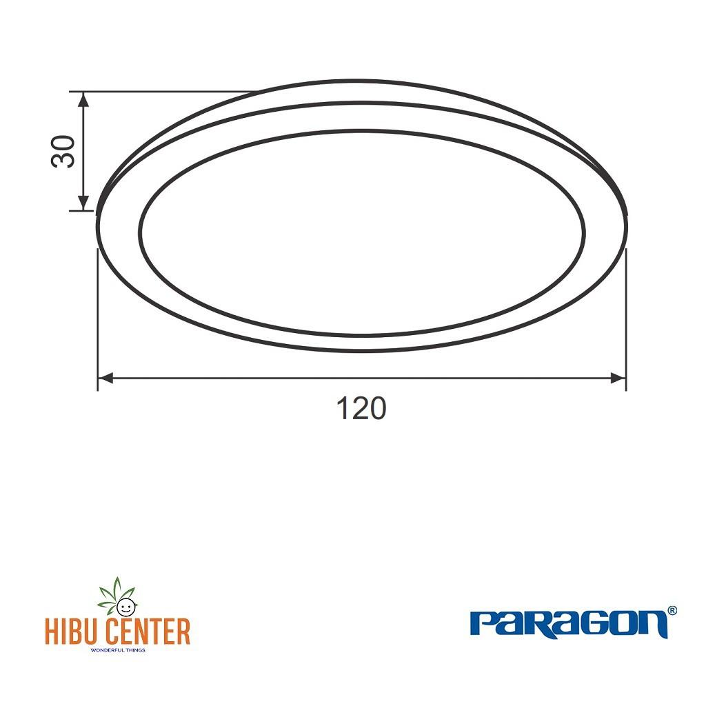Đèn LED PARAGON Downlight Đổi Màu Dân Dụng (RRDA Series) 7W/ 9W/ 12W. Hàng Chính Hãng - HIBUCENTER