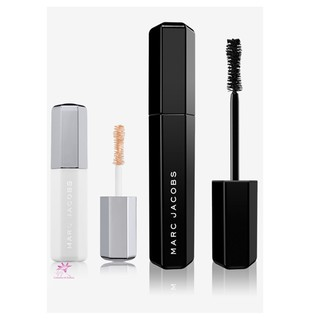 Set MARC JACOBS BEAUTY Velvet Noir Major Volume Mascara + Velvet Prime Epic Lash Primer