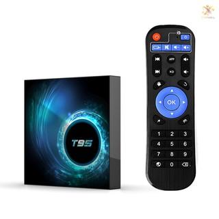 Bộ Tv Box T95 Android 10.0 Allwinner H616 Quad-Core 64 Bit 4k Media Player 6k Hdr H.265 Vp9 4gb / 128gb 2.4g & 5g Wifi Bt5.0 100m
