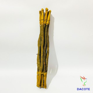 Cầu đậu thẳng cho chim chất liệu gỗ thuốc cao cấp giá rẻ dễ dàng lắp đặt (1 chiếc) thumbnail
