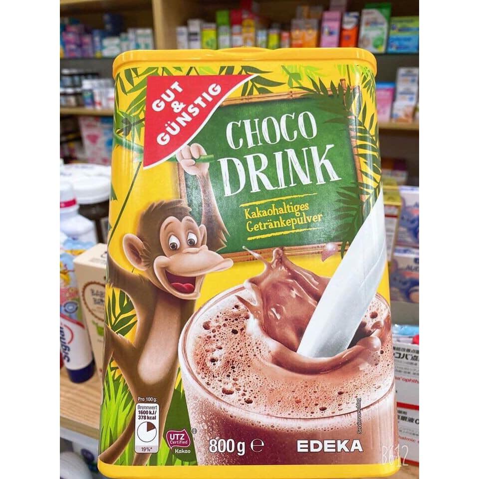 BỘT CACAO CHOCO DRINK 800G ĐỨC