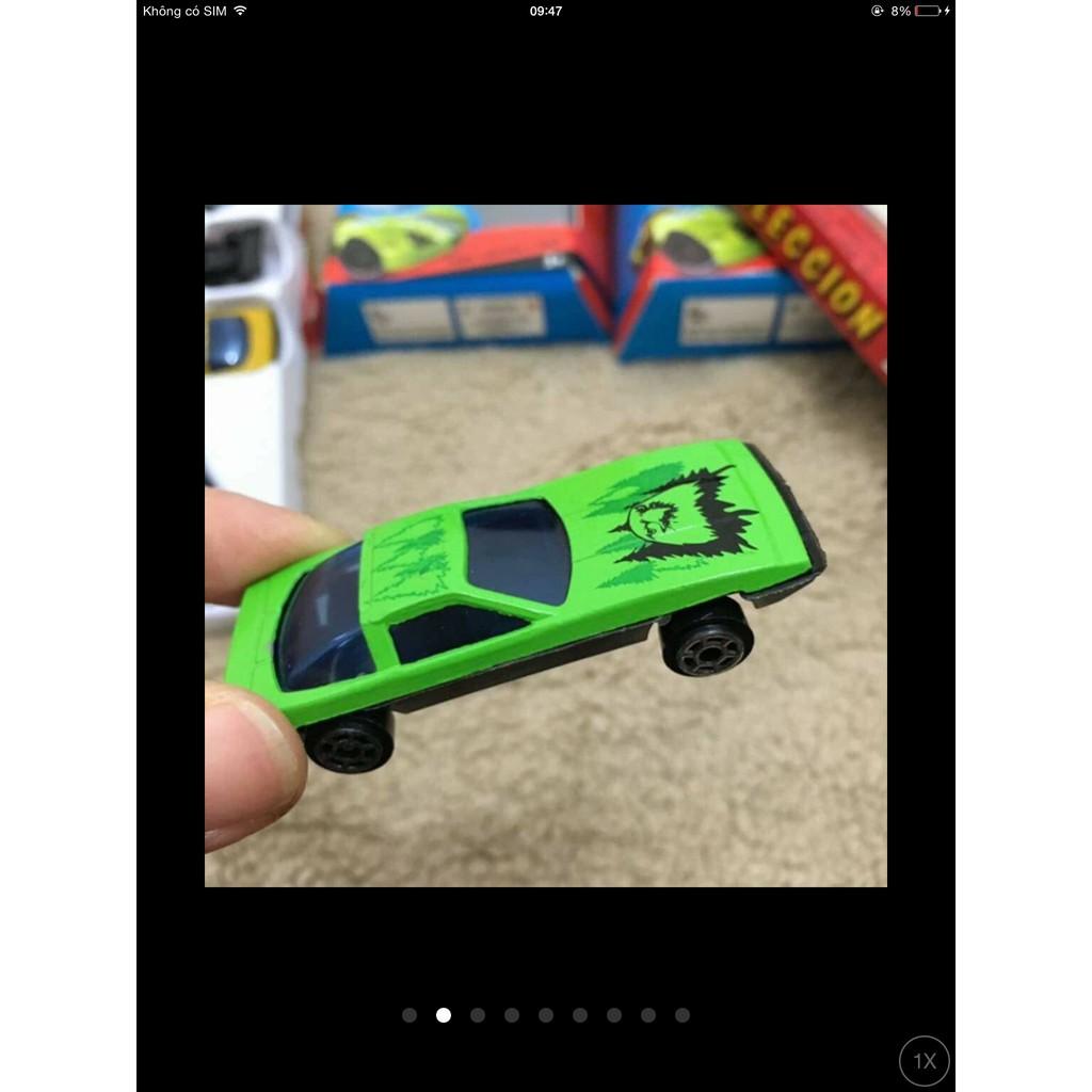 Bộ 50 ô tô sắt - ô tô đồ chơi cho bé