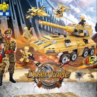 Bộ lego đội quân Đại bàng sa mạc 8in1 (561)