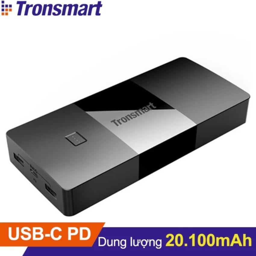 Pin sạc dự phòng TRONSMART PBD20 Brio 20100mAh USB-C Power Delivery - Hãng phân phối chính thức