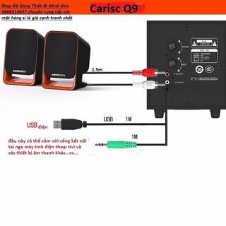 Loa Nghe nhạc Điện thoại, Máy tính, Tivi PKCB-301 3 Loa – PKCB-301