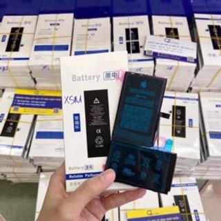 Pin iphone zin 5G/5S/6G/6P/6S/6SP/7G/7P/8G/8P/X/XS/XSM (kèm miếng dán pin) Bảo hành 1 năm