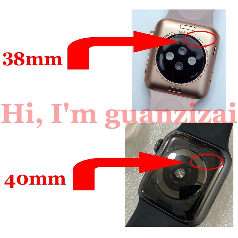 Dây đeo silicon cho đồng hồ thông minh Apple 1 / 2 / 3 / 4 /5/6/SE,38mm / 40mm