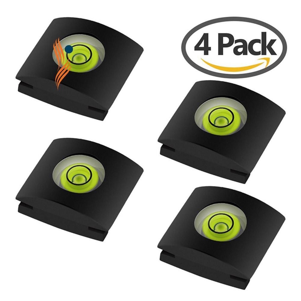 4 Pcs/Set Camera Bubble Spirit Level Hot Shoe Protector Cover DSLR Cameras Accessories For Sony A6000 Canon Nikon