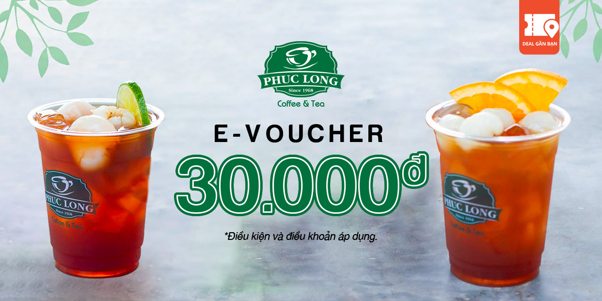 E-VOUCHER PHÚC LONG 30.000