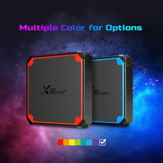 Android Box X96 Mini Plus Android TV 9.0 Amlogic S905W4 mới, Wifi Dual Band 2.4Ghz & 5Ghz, Ram 2GB, rom ,16GB. Optical