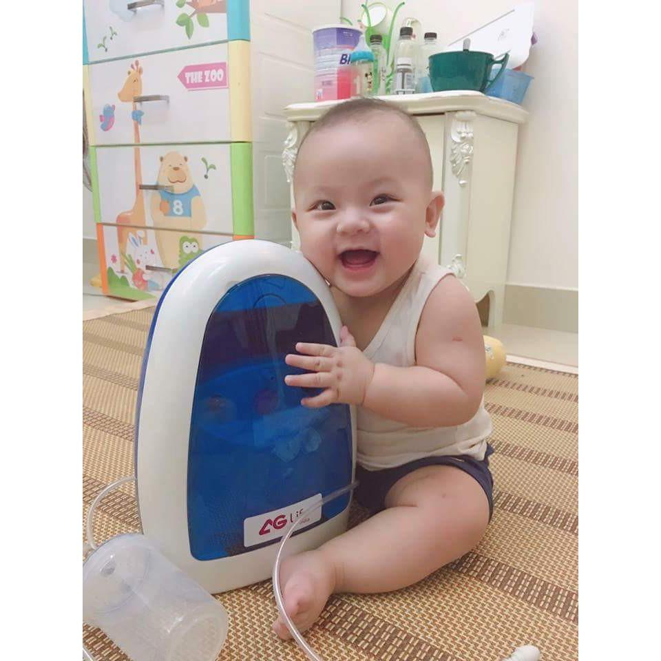 Máy xông hút mũi 2 in 1 AG Life Hi Baby bảo hành 08 năm - 3130416 , 1113330864 , 322_1113330864 , 1550000 , May-xong-hut-mui-2-in-1-AG-Life-Hi-Baby-bao-hanh-08-nam-322_1113330864 , shopee.vn , Máy xông hút mũi 2 in 1 AG Life Hi Baby bảo hành 08 năm