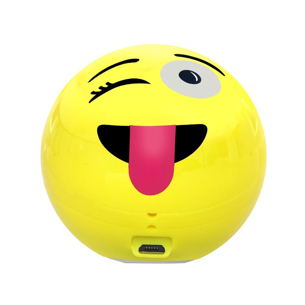 Loa Bluetooth Promate Groovoji biểu tượng Winking Face With Tongue