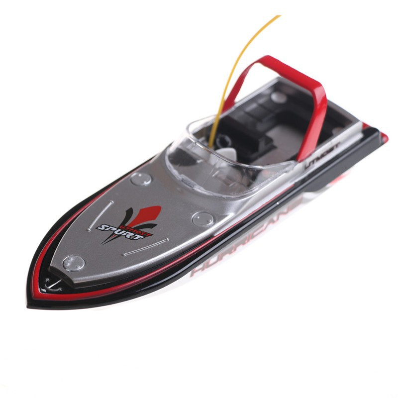 Micro Radio Remote Control Mini Speed Electric Boat Dual Motor Toy Child Gift