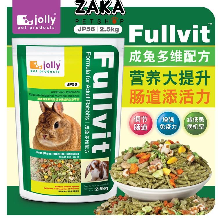Cỏ nén Fullvit cho thỏ trưởng thành (1kg)