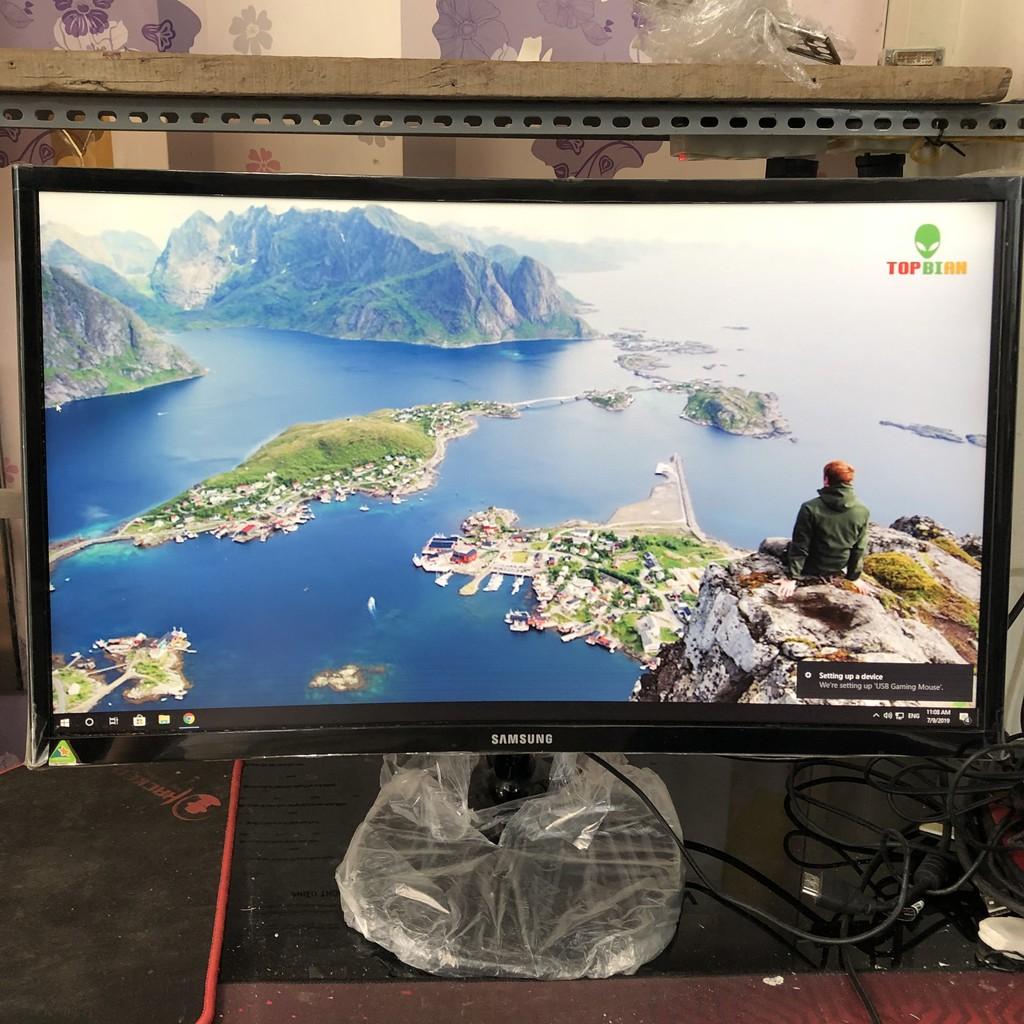 Màn hình máy tính 24 inch, samsung cong C24F390, benq GL2460, LG 24M47VQ , aoc M2461FWH, asus vp247, hp v242