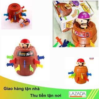 Trò chơi đâm hải tặc size M dành cho dân văn phòng xả stress tuyệt vời, quà tặng đồ chơi cho bé siêu kute SUNHA SH 0239