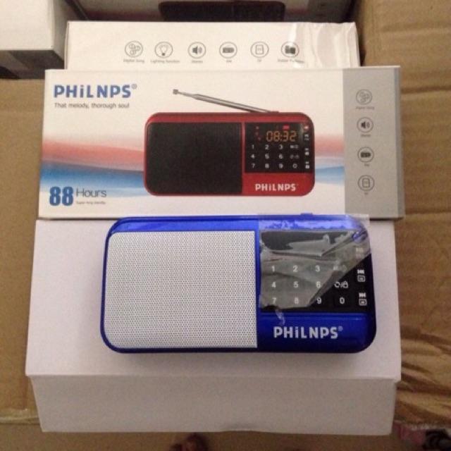 [SALE 10] Loa nghe thẻ, usb Philnps 88 UM37 pin xài trên 5 giờ