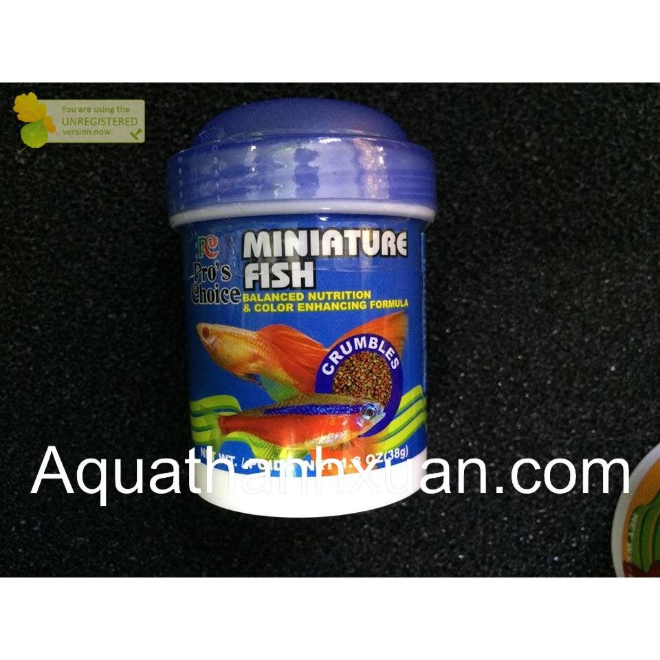 Thức ăn dành cho cá thủy sinh - Miniature Fish