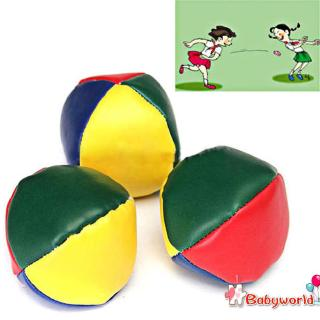 »b1❤Juggling Balls Classic Bean Bag Juggle Magic Circus Beginner Kids Toyღ