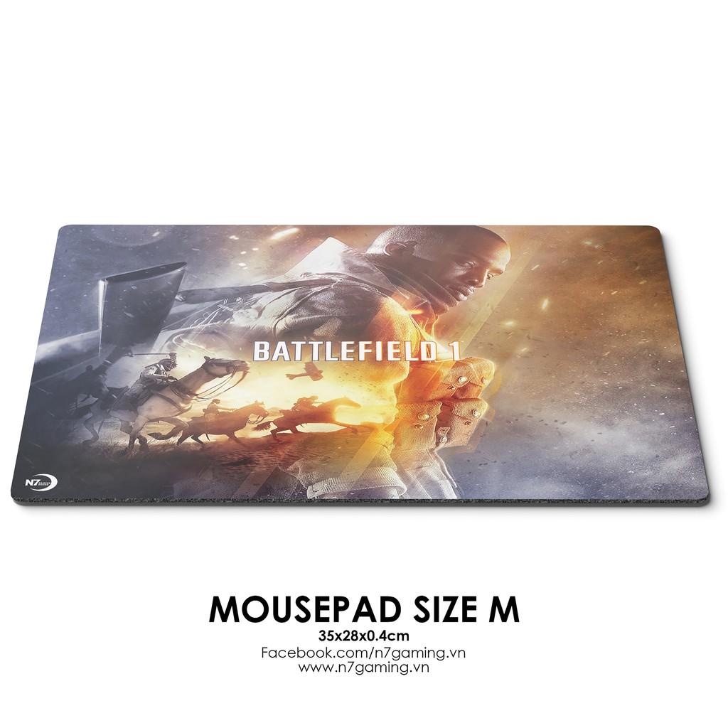 Lót chuột size M - Battlefield 1