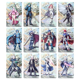 12PCS Linkage Card King Amiibo NFC Game Card for NS Switch Fire Emblem Set