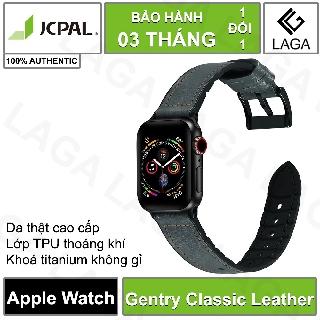 [Mã ELMS5 giảm 7% đơn 300K] Dây Da Apple Watch JCPAL Gentry Classic Leather 38mm / 40mm / 42mm / 44mm