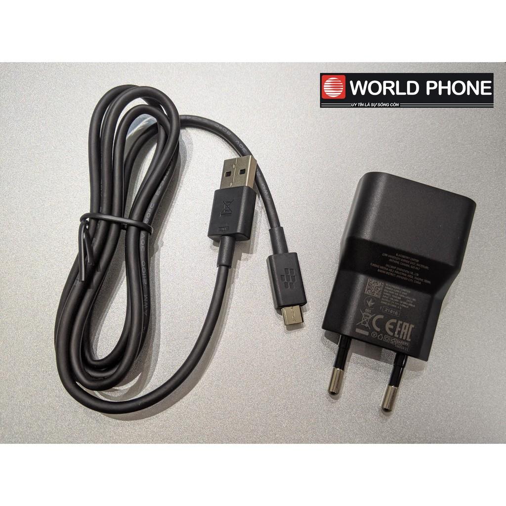 Sạc cáp BB Blackberry Passport , Blackberry Priv, BB10 nguồn 1300mA zin chính hãng