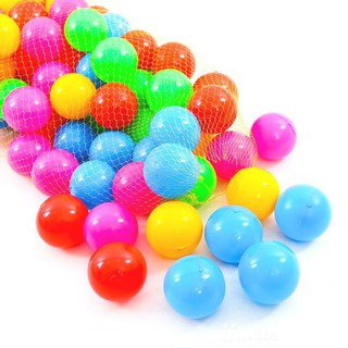 100 quả bóng nhựa cho bé ( Giá sập sàn )