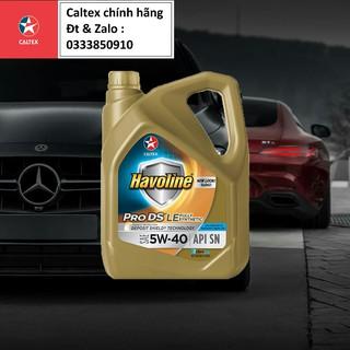 Nhớt động cơ ô tô đa nhiên liệu Havoline ProDS Synthetic LE 5w40 [ 4L ] thumbnail