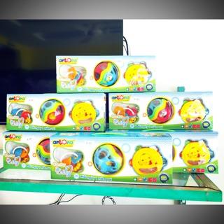 Bộ 3 đồ chơi xúc xắc Antona an toàn cho bé