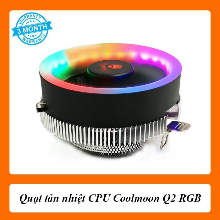 Quạt tản nhiệt CPU Coolmoon Q2 RGB