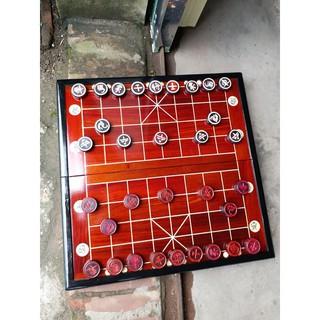 Bộ bàn cờ gỗ hương 50-50 quân 3,5