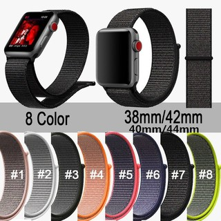 Dây nylon đeo đồng hồ thay thế cho Apple iwatch series 1/2/3/4 44-42-40-38MM