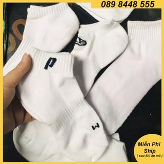 Tất cotton phụ kiện đá bóng nam sợi dệt loại lửng, vớ thời trang thể thao sale rẻ đẹp 2EV thumbnail