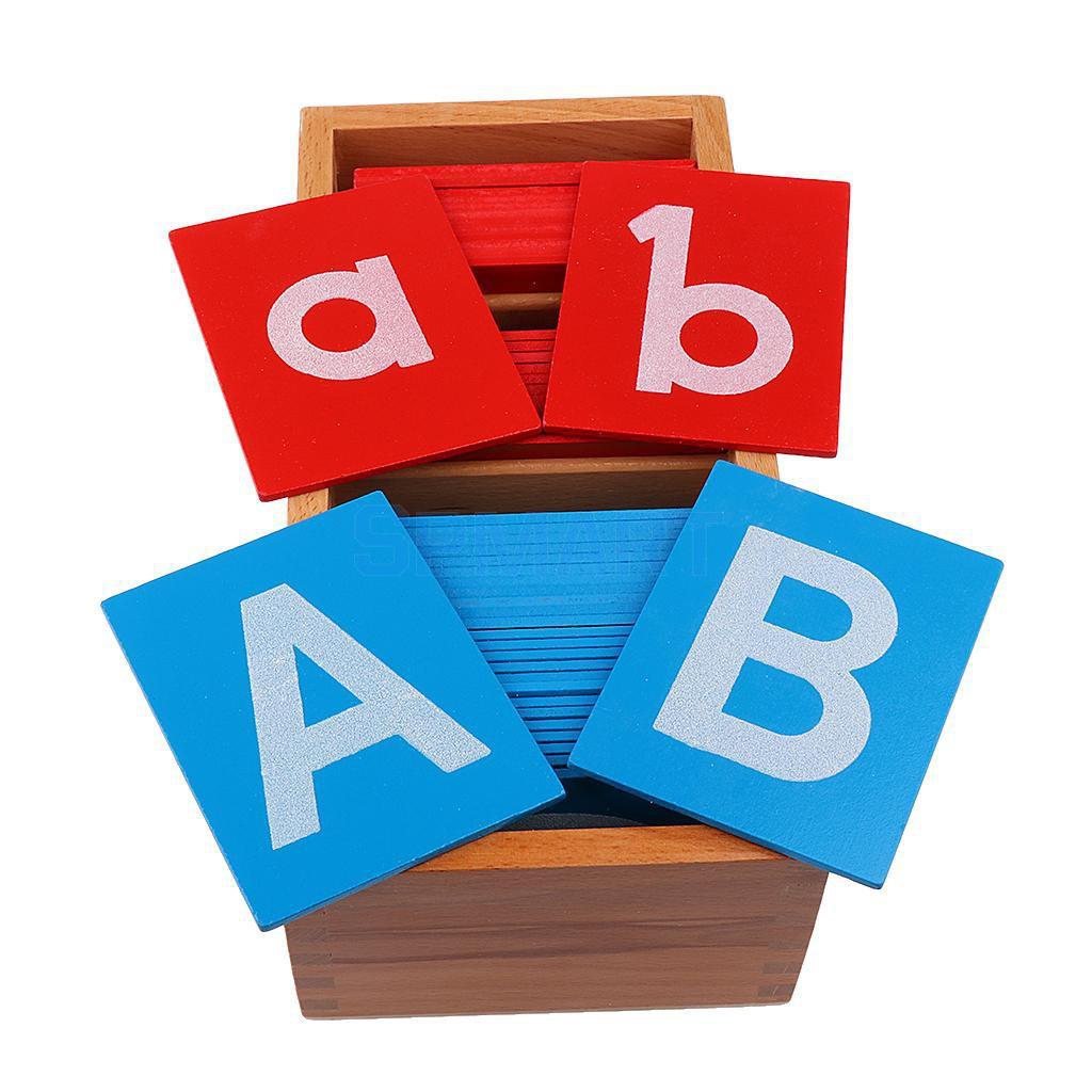 [FREE SHIP 99K] Bộ chữ cái nhám – #Giáo cụ Montessori