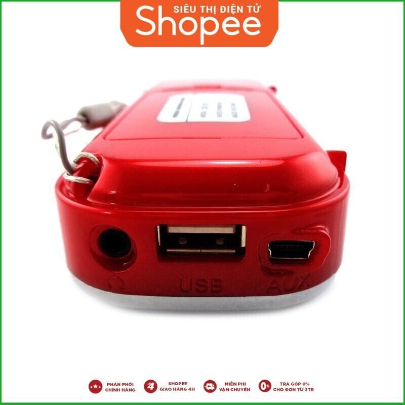 [Sale Ngập Tràn]Bộ loa nghe nhạc USB Craven CR-22 (Đỏ) và Thẻ nhớ 8GB Giá chỉ 248.750₫