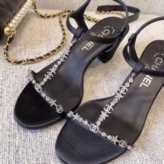 Sandal cao gót quai đá hàng cao cấp về hàng fullbox