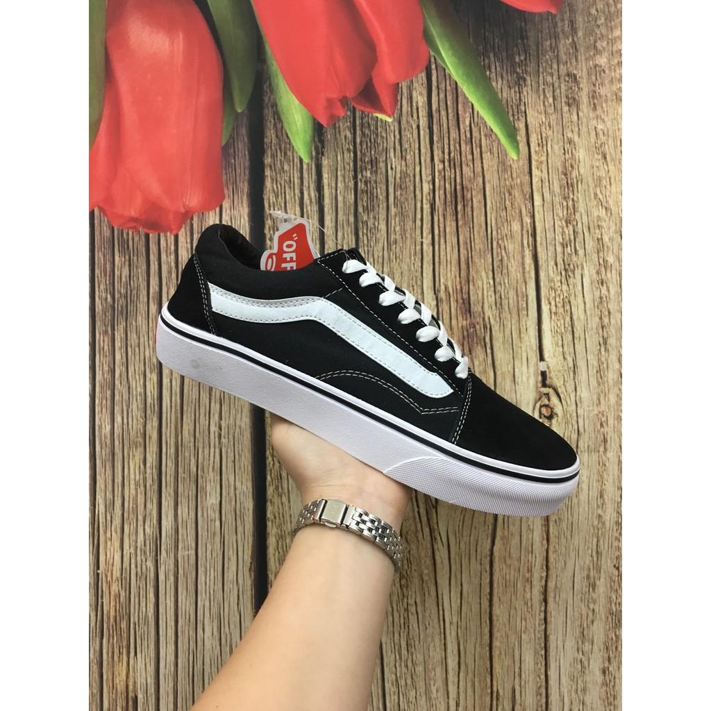 Giày vans old skool đen trắng