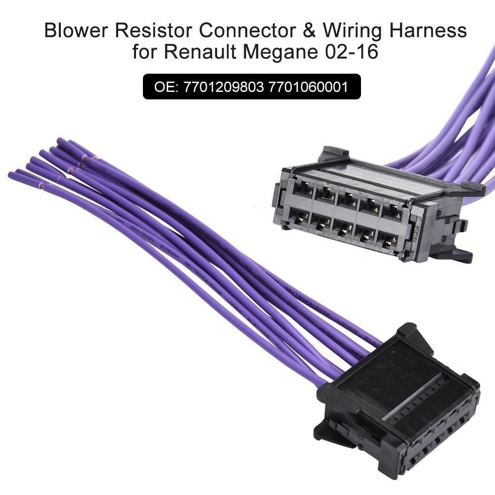 U0110i U1ec7n Tr U1edf Cho Wiring 7701209803 Renault Connector 02