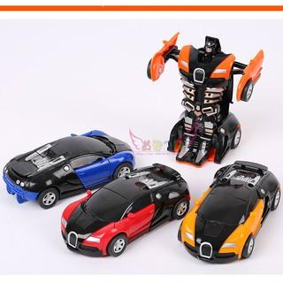 Combo 2 xe Robot biến hình