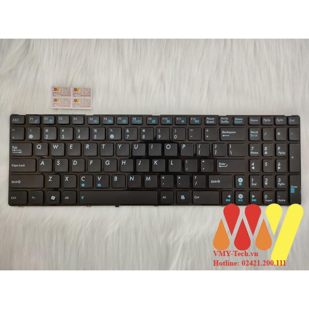 Bàn phím laptop Asus K53E K53S K53SC K53SD K53SJ K53SJ K53SK K53SM K53SV K53U K53Z K53BY(cáp cong)