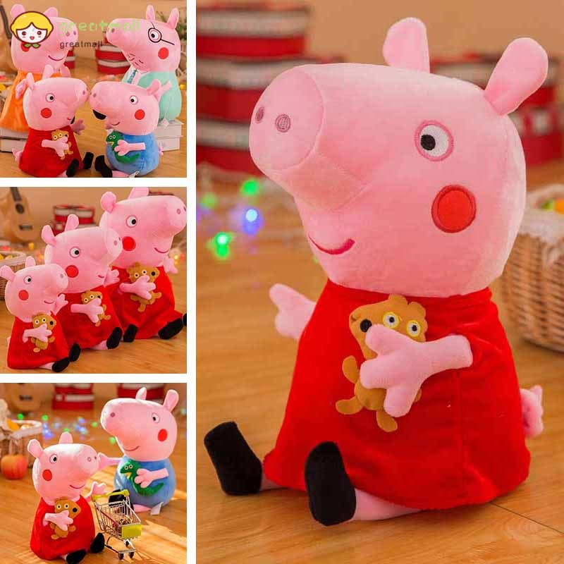 Cute Peggy Plush Soft Toys Animal Piggy Doll Baby Kids Birthday Gifts