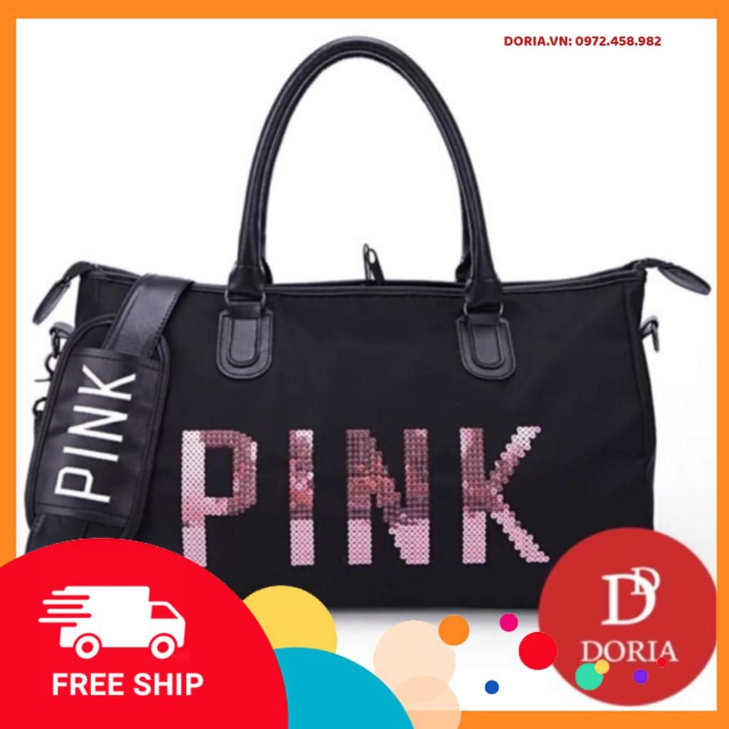 FREESHIP 50K Túi du lịch pink size đại hàng cao cấp DR338