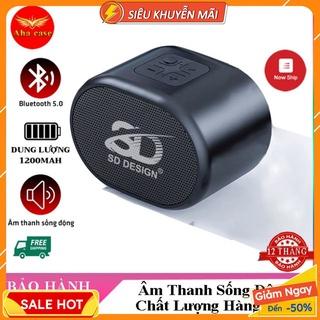 Loa Bluetooth Mini S12 Cao Cấp SD Design, Nhỏ Gọn Không Dây Nghe Nhạc Chuẩn, Hỗ Trợ Thẻ Nhớ và USB thumbnail