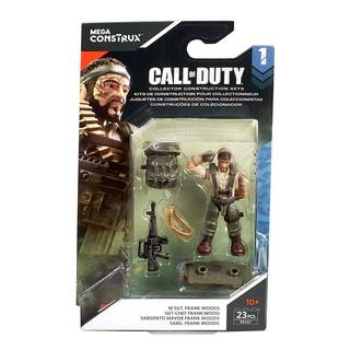 Đồ chơi lắp ghép mô hình nhân vật Call of Duty M Sgt. Frank Woods Construction Set Mega Construx