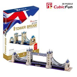 Mô hình giấy 3D CubicFun – Cầu tháp London – Tower Bridge (MC066h)