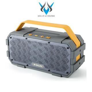 Loa Bluetooth cao cấp SAUIN S20 pin 4400mAh, công suất thực 20W, âm Bass cực hay (Xám)