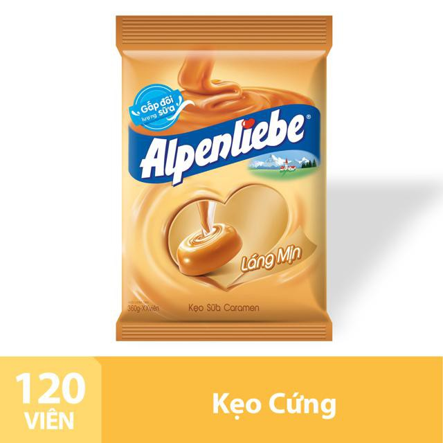 Kẹo Sữa Caramen Alpenliebe Gói 120 Viên