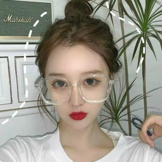 Mắt kính gọng vuông phong cách thời trang Hàn Quốc